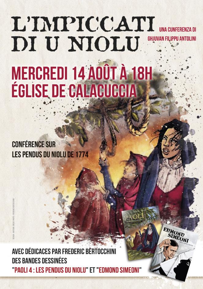 L'impiccati di u Niolu : Une conférence à Calacuccia