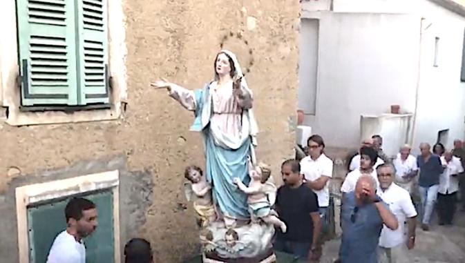 VIDEO - L'Assunta festighjata incù un gran' fervore in Montemaiò