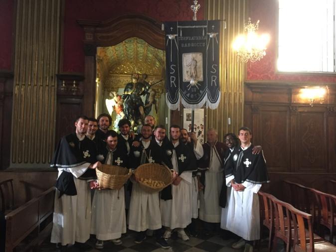 Les jeunes confrères de Saint Roch fêtent leur Saint ce vendredi 16 août à Bastia