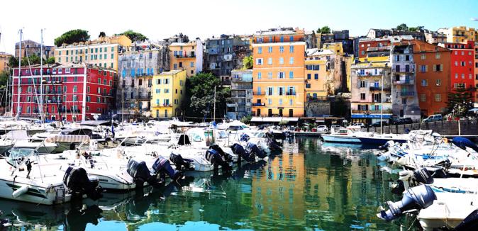 La photo du jour : u vechju portu di Bastia