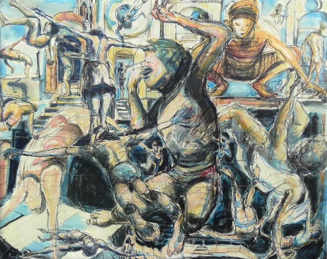 """Les expositions : """"Humanité"""" de Jean Monestié à Propriano"""