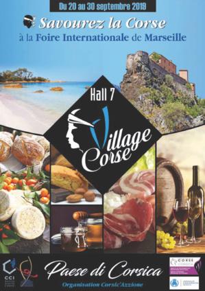 Le village corse à la foire de Marseille du 20 au 30 Septembre prochains