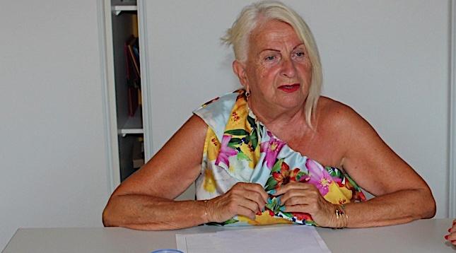 Annie Falcucci, adjointe au maire de Calvi, en charge des affaires scolaires, de la jeunesse et de l'enfance