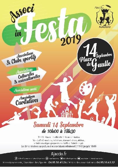 Associ in Festa : La Fête du Sport et des Associations revient à Ajaccio
