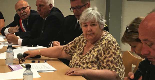 Jacqueline Gourault en Corse les 5 et 6 Septembre