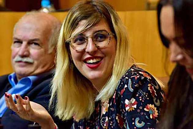 Lauda Guidicelli, conseillère exécutive chargée de la jeunesse, des sports, de l'égalité femmes-hommes, de l'innovation sociale et du handicap. Photo Michel Luccioni.