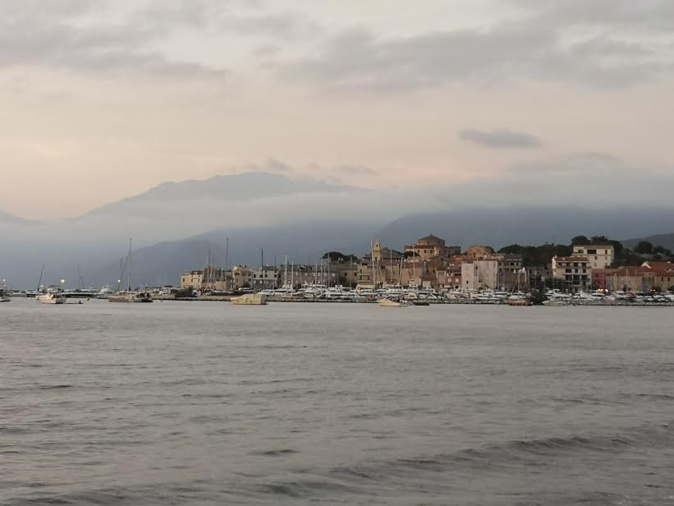 Saint-Florent vu depuis La Roya (Eric Segond)