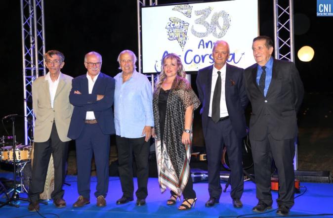 Emotion pour les trente bougies d'Air Corsica