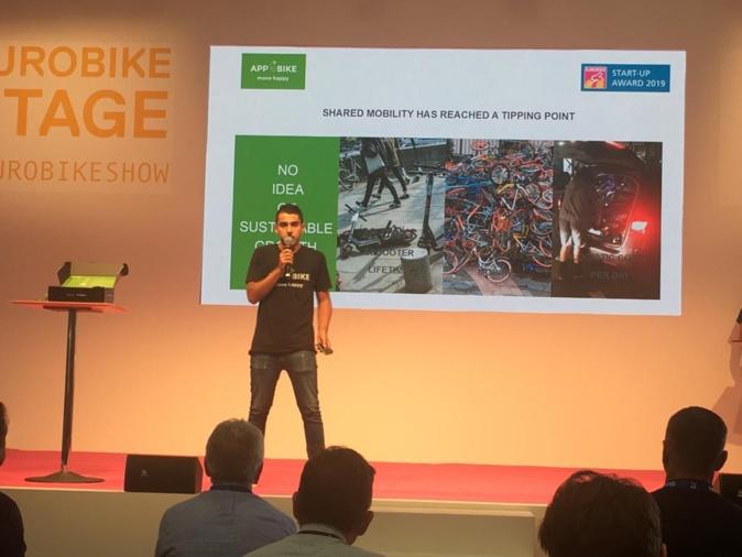 La Box Bike Sharing de la start-up corse AppeBike parmi les 20 innovations de l'année à l'Eurobike Award