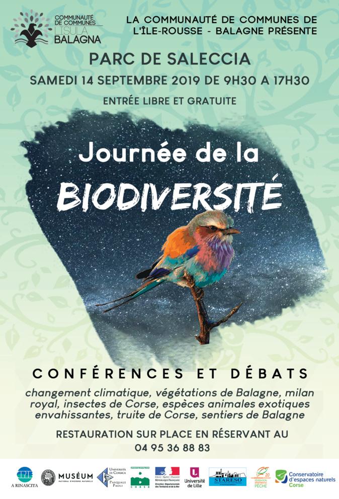 Les journées de la biodiversité s'invitent en Balagne les 13 et 14 septembre