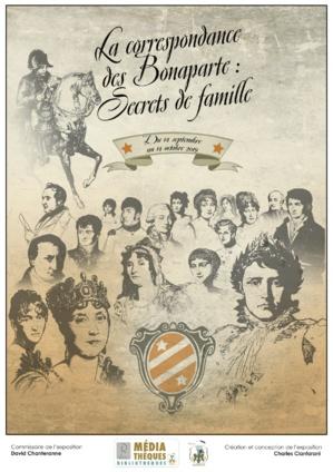 Les secrets de famille des Bonaparte s'exposent à la Bibliothèque Municipale d'Ajaccio