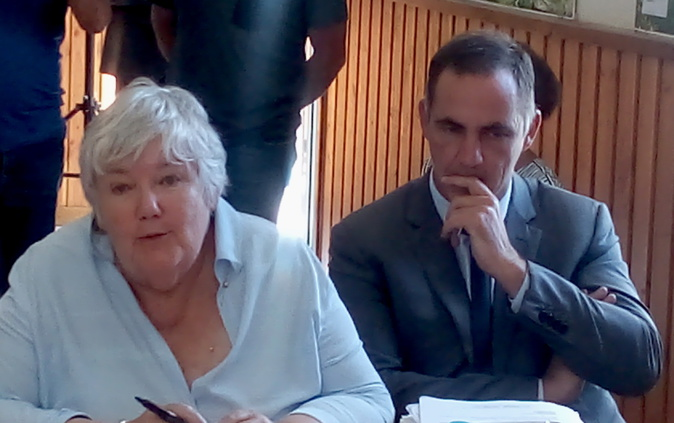 """Jacqueline Gourault à Sotta : """"L'agenda rural doit permettre d'améliorer la qualité de vie des habitants de vos villages »"""