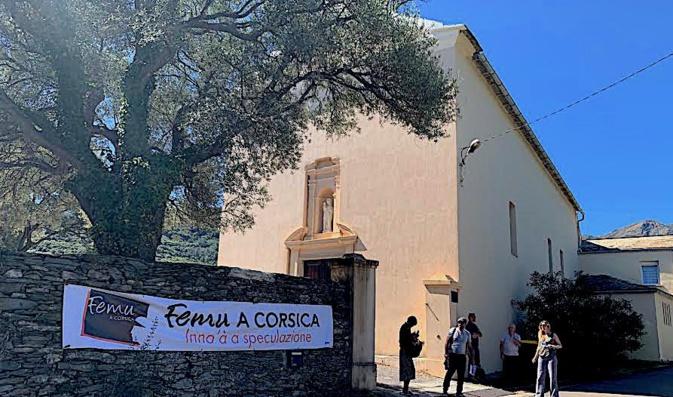 Les craintes de Femu a Corsica  et de la municipalité de Santa Maria di Lota pour l'avenir du couvent Saint-Hyacinthe