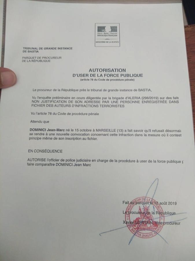 """Jean-Marc Dominici inscrit au FIJAIT : """"je suis un homme libre et entend le rester"""""""