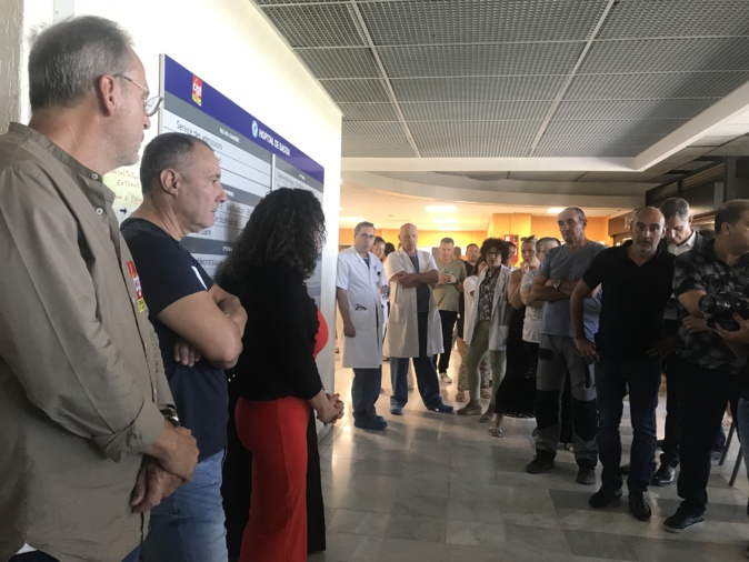 VIDEO - Hôpital de Bastia : la CGT appelle à une grève générale dans tous les services