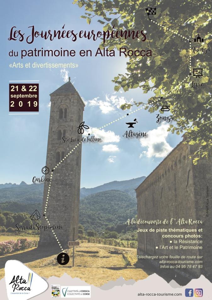 L'Alta Rocca célèbre les Journées européennes du Patrimoine avec un jeu de piste à travers le territoire
