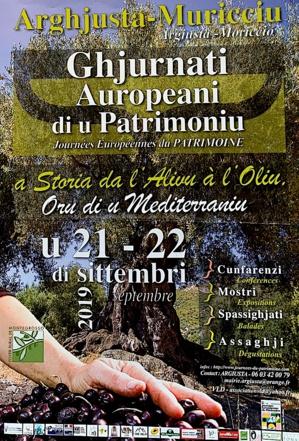 """Arghjusta è Muricciu : """"a storia da l'alivu à l'oliu"""" a i ghjurnati auropeani di u Patrimoniu"""