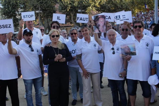 Artistes, personnalités et sportifs mobilisés à L'Ile-Rousse contre les féminicides