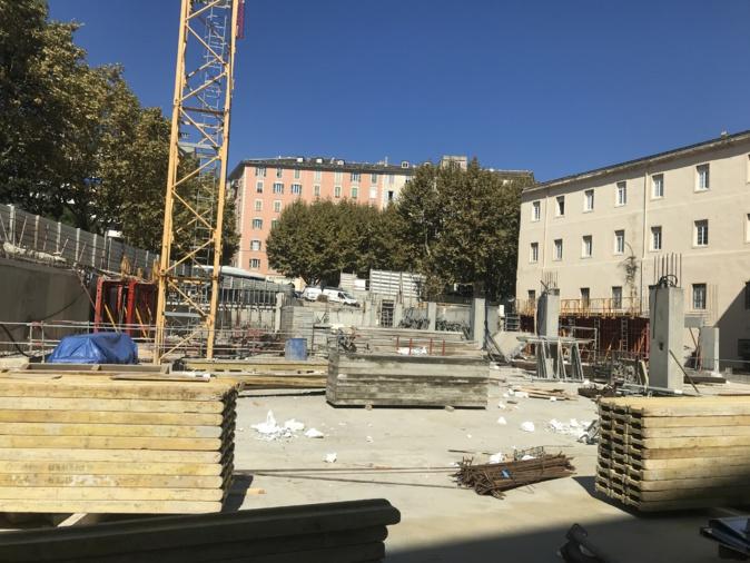Bastia : Livraison du parking Gaudin en Décembre, mise en service en Février 2020