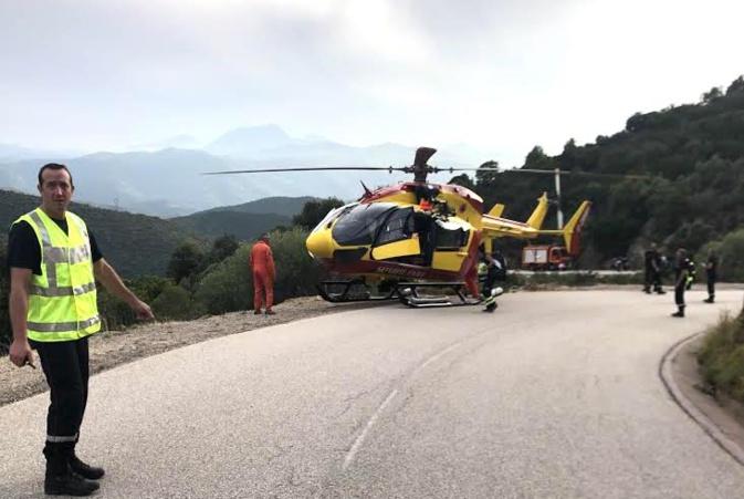 Grave accident de la circulation à Urtaca
