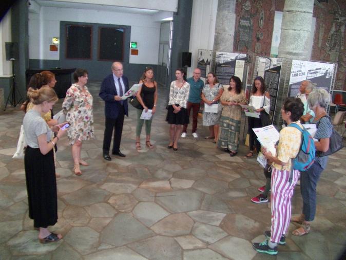 Présentation des journées européennes du patrimoine à Bastia