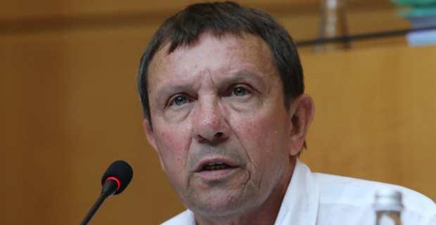 François Sargentini, conseiller exécutif et président de l'Office de l'environnement de la Corse, en charge de la question des déchets. Photo Michel Luccioni.