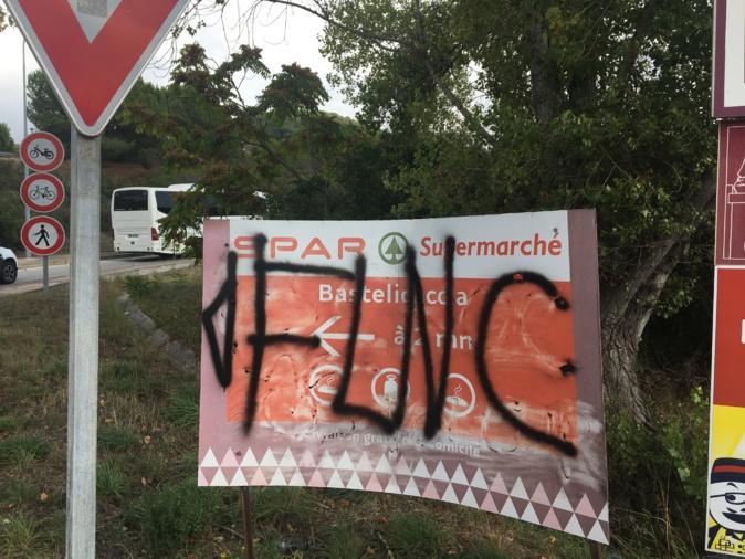 Bastelicaccia : Tirs et inscriptions menaçantes contre un commerce