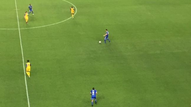 Guibert a relancé la machine, aprés l'ouverture du score de Drancy à la 3ème minute de jeu