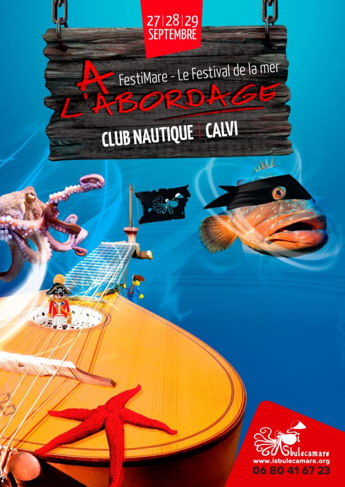 Festival de la mer à Calvi avec Marc Thiercelin et Jacques Rougerie