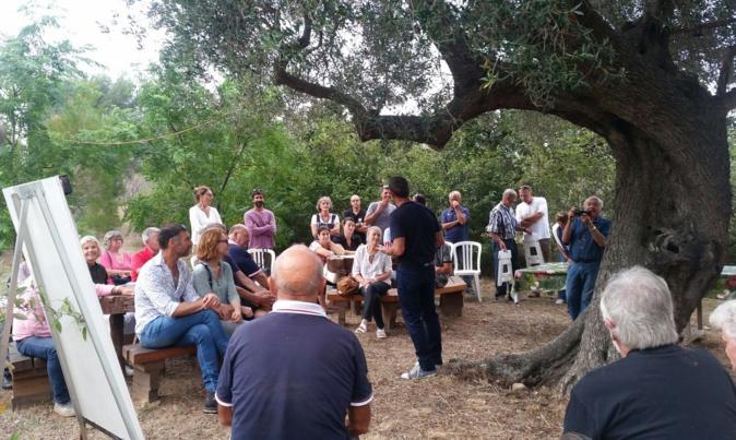 Le Rotary Club Calvi-Balagne au jardin botanique d'Avapessa