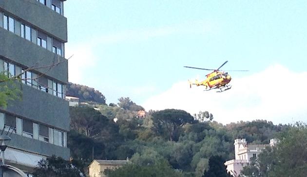 Un randonneur évacué par hélicoptère après une chute à Albertacce