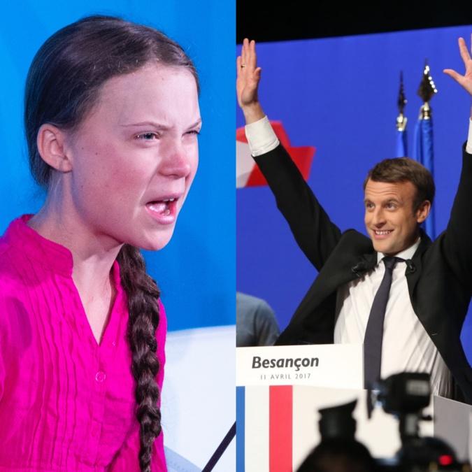 Greta, Macron et...la Corse