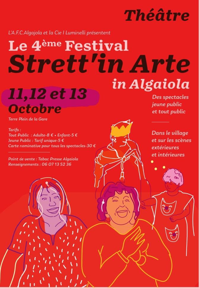 IVème festival de théâtre Strett'in Arte in Algaiola