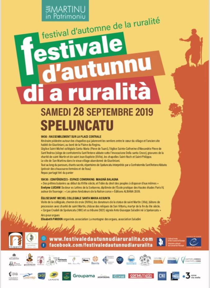 U festivale d'autunnu di a ruralita prend de l'ampleur et ses marques à Speluncatu