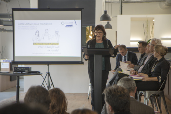 Le dispositif né le 27 juin 2017 de la fusion des associations Corse Active et Initiative Corse, Corse active pour l'initiative est affilié aux réseaux nationaux France Active et Initiative France.