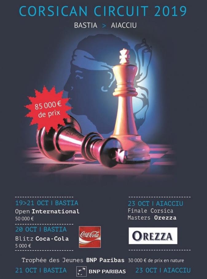 Le 23e Corsican Circuit revient du 19 au 23 octobre