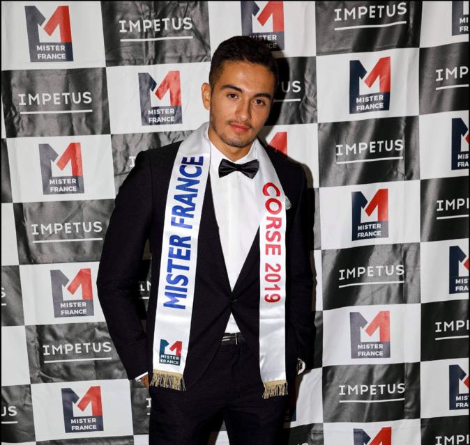Daniel Ferreira-Concalves, le candidat corse au titre de Mister France