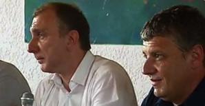 Jean-Christophe Angelini et Michel Giraschi.