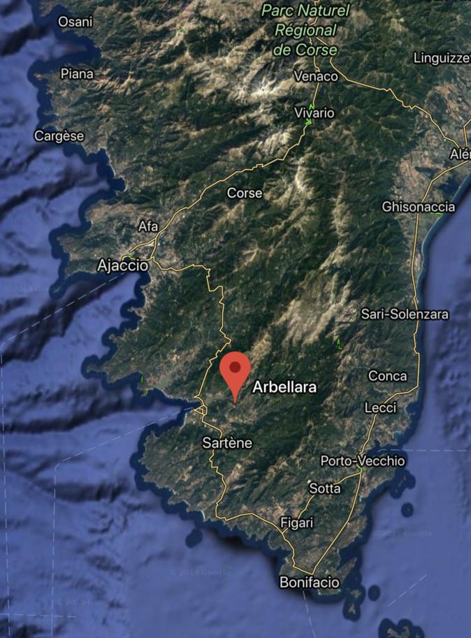 Le village d'Arbellara privé d'électricité suite à l'incendie de trois transformateurs