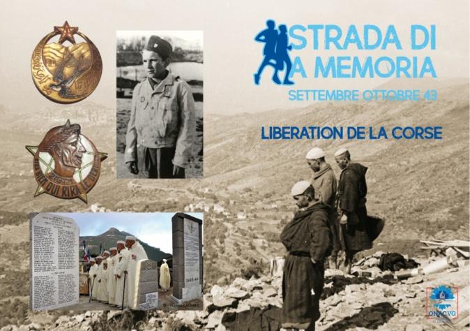 Une marche intergénérationnelle  à Teghime pour le 76ème anniversaire de la libération de la Corse