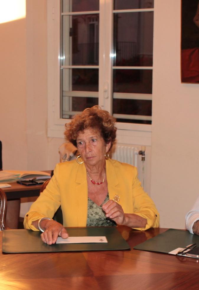 Françoise Sévéon a participé jeudi soir à la réunion du conseil municipal de Calvi