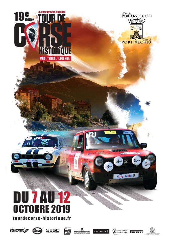 Le 19e Tour de Corse Historique sur sa rampe de lancement