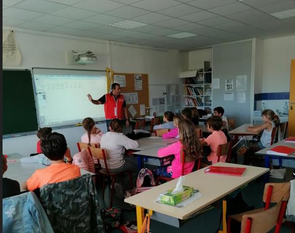 Prunelli-di-Fium'Orbu : l'Association pour le Don de Sang Bénévole de la Plaine Orientale s'invite à l'école