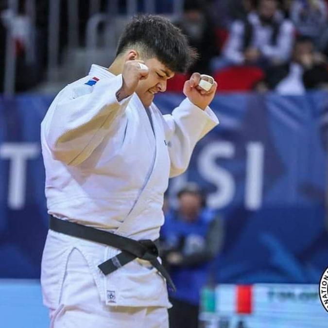 Julia Tolofua en Bronze au Grand Slam du Brésil