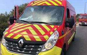 Santa Lucia di Moriani :  un Quad tombe en contrebas de la route. Deux blessés dont un dans un état grave