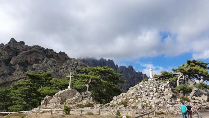 La photo du jour : Notre Dame des Neiges
