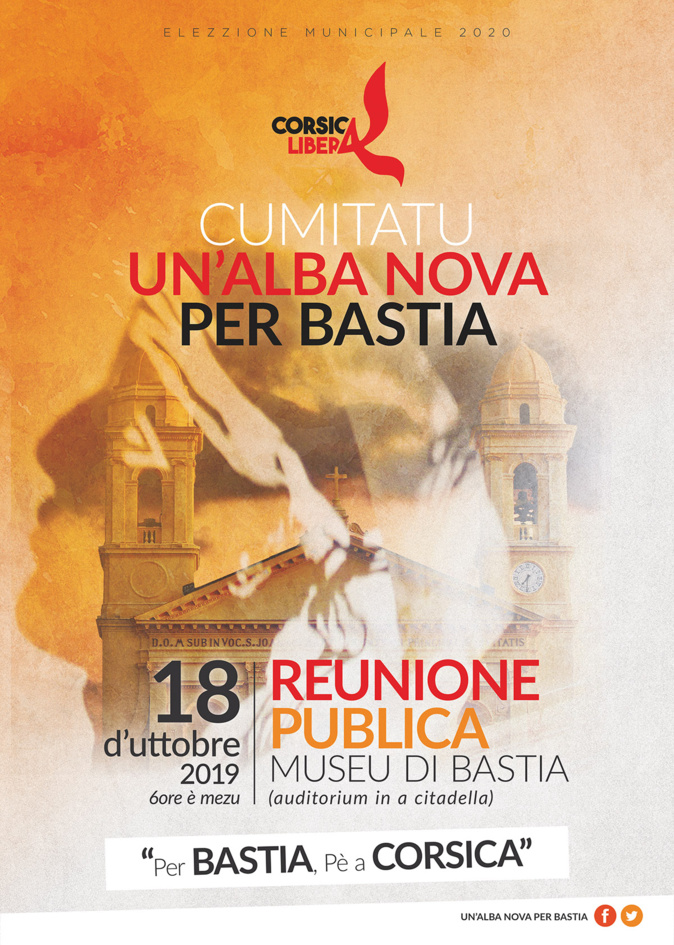 Corsica Libera et le cumitatu Alba nova per Bastia : réunion publique à l'auditorium
