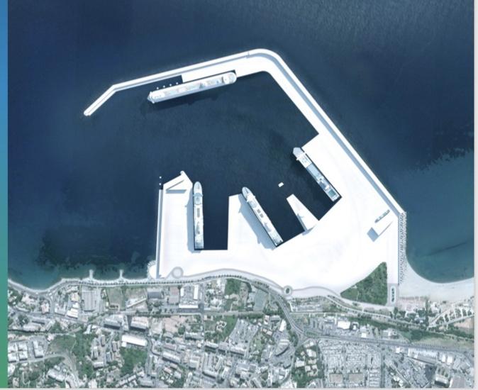 Le projet du port de la Carbonite.