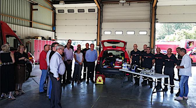 Le véhicule avait été remis au CS de Luri au mois de Juillet dernier