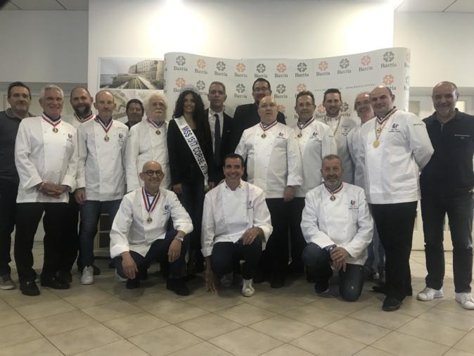 VIDEO - Equipe de France de pâtisserie : la crème de la crème est arrivée à Bastia